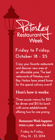 Petoskey Restaurant Week
